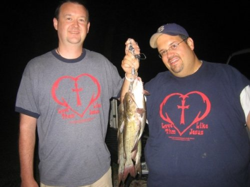 after a night of catfishing with Curt & Jake